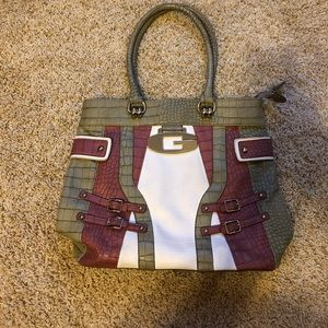 Guess inspired purse